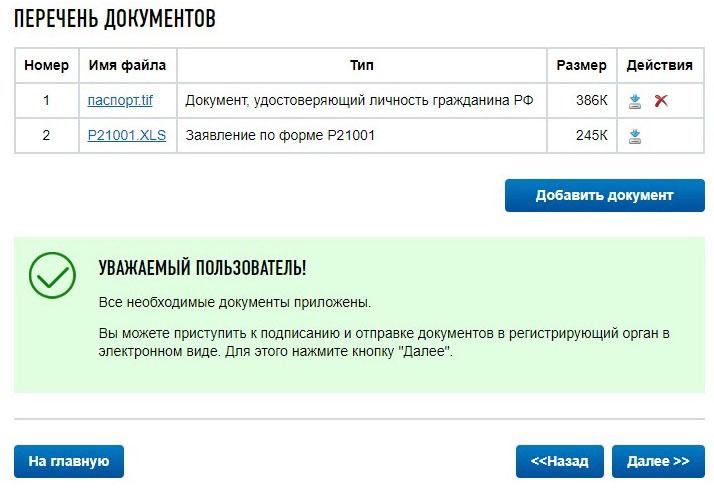Регистрация ИП с помощью ЭЦП